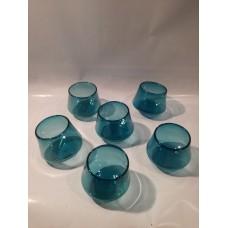 """Gobelet """"Culbuto"""" bleu vert aqua"""